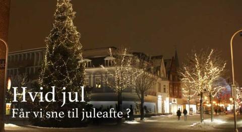 Hvid jul i 2015 – Får vi sne juleaften ?